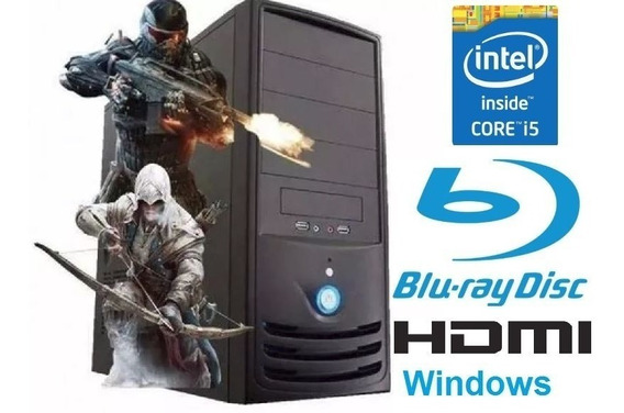 Pc Cpu Intel Core I5 3.2ghz +8gb+ Ssd120+leitor Bluray