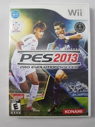 Pes 2013 Wii Mídia Física Pronta Entrega