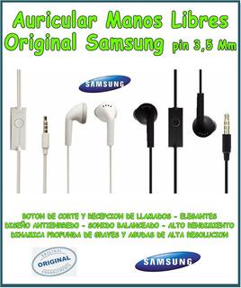 Auriculares Manos Libres 3.5 Mm Samsung Galaxy A20 A30 - A50