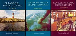 Julio Verne Lote X 3 Libros Nuevos El Faro Del Fin Del Mundo