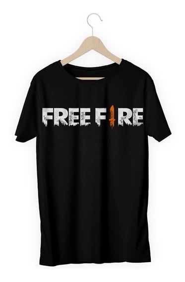 Camisa Camiseta Free Fire Jogo Celular Battleroyale