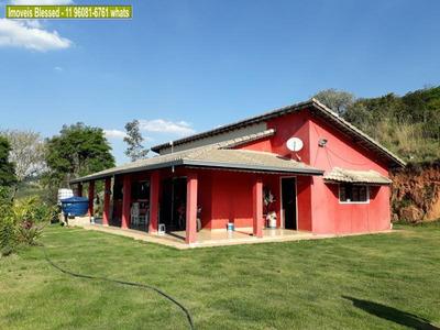 Chácara Para Venda Em Atibaia, Tanque, 3 Dormitórios, 1 Suíte, 2 Banheiros, 4 Vagas - 0047