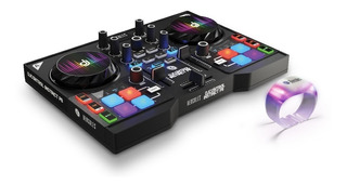 Consola Dj P8 Hercules Instinct Mixer Usb Party Pack + Placa