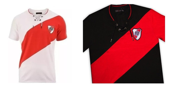 Camiseta River Plate Retro Cordones