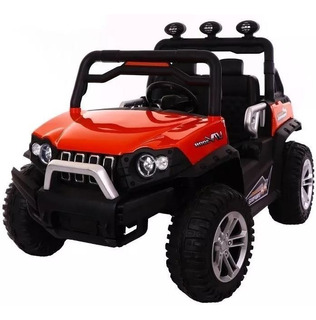 Carro Montable Electrico Usb, Mp3, Ctrol Remoto, 4x4 12v Led