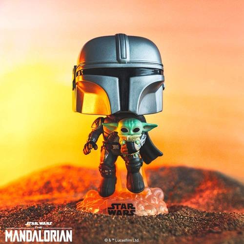 The Mandalorian & Baby Yoda Child Funko Pop #402  Star Wars