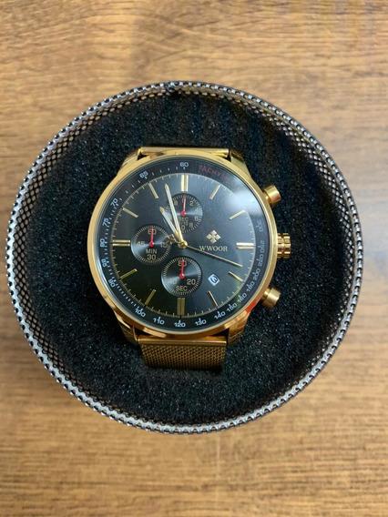 Reloj Dorado Wwoor