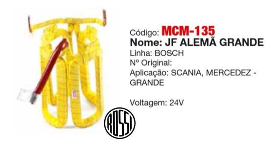 Bobina Campo Motor Partida Bosch 24v Scania Mercedez Grande