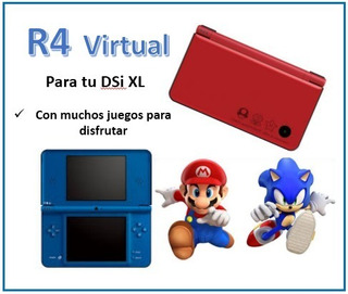 R4 Virtual Para Nintendo Ds Xl