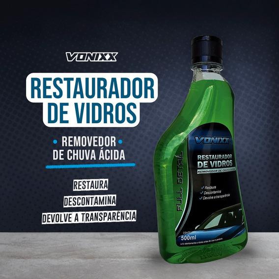 Removedor De Chuva Ácida- Restaurador De Vidros Vonixx 500ml