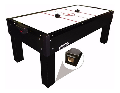 Mesa Aero Air Hockey Elite 211x105cm + Kit Klopf 1048 C/cont