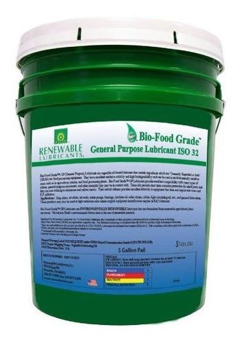 Imagen 1 de 1 de Lubricantes Renovables 87334 Lubricante Bio De Uso General D