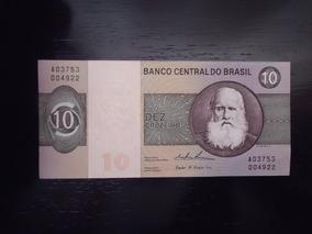 Nota Cédula 10 Dez Cruzeiros Fe Nacional Ler Abaixo