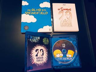 Simpsons 20ª Temporada Blue Ray- Grátis Livro Dos Simpsons