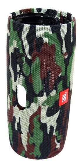 Carcaça Externa Caixa Som Jbl Charge 3 Gg Original Camuflada