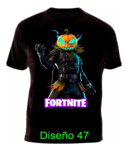 Camiseta Fortnite Gamer Video Juego Heroe Algodon Garantizad