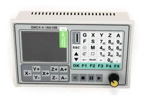 Imagem 1 de 10 de Controladora Cnc 4 Eixos Router Off Line Controle Sem Pc