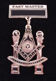 Medalla Past Master Masoneria Pyf