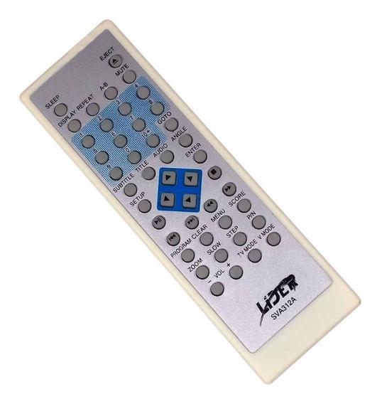 Controle Remoto Dvd Player Sva D-1088 1828 2028 2088 (9594)