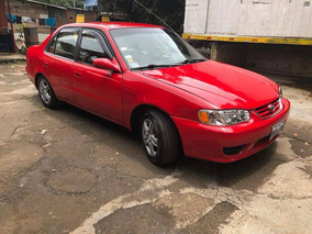 Toyota Corolla 2001. Gas Lp, Motor Vvti, Al Dia Firma De Una
