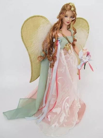 Boneca Barbie Golden Angel Nrfb