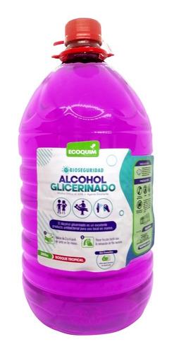 Alcohol Glicerinado + Emolientes Galón - L a $9525