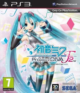Hatsune Miku Project Diva F2 Nd Ps3 Digital