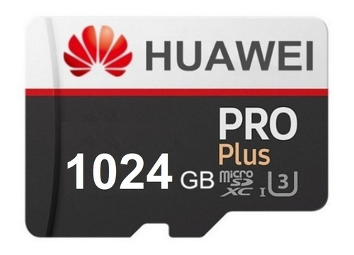 Imagen 1 de 3 de Tarjeta De Memoria Micro Sd 1024 Gb Huawei Pro 1 Tb Original