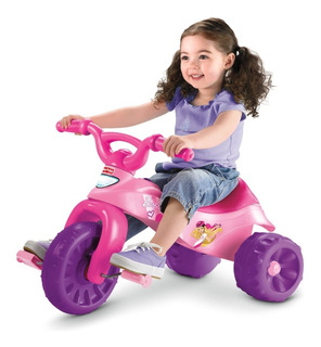 Fisher Price Triciclo Barbie Niña Bebe Moto Montable