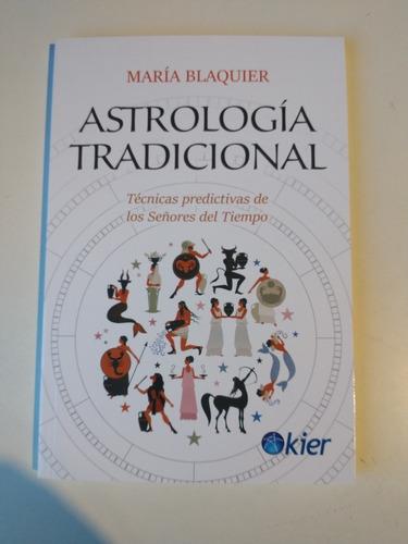 Astrologia Tradicional María Blaquier