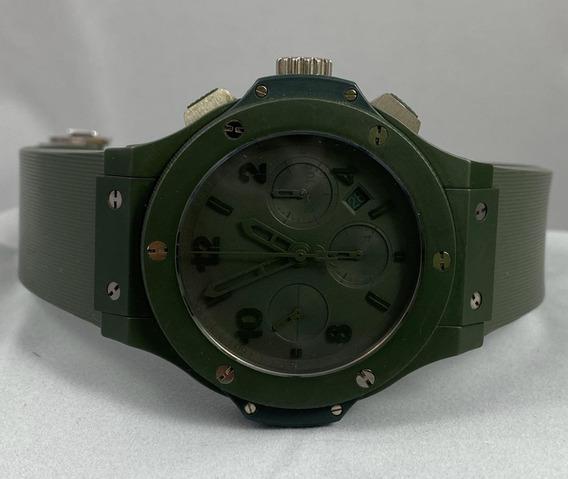 Hublot Big Bang Ceramic All Green - Aceito Troca