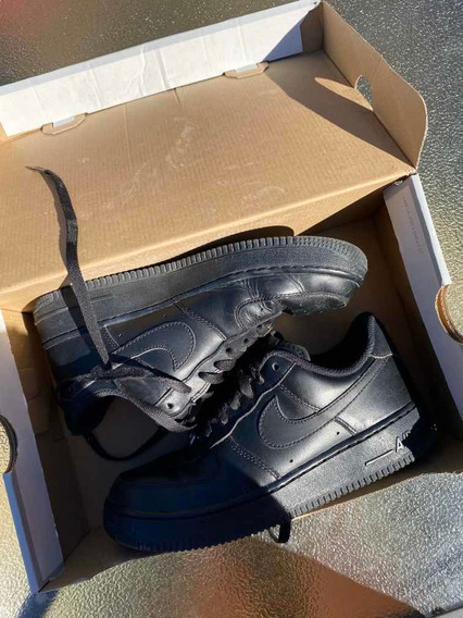 Zapatillas Nike Air Force 1 Negras 38