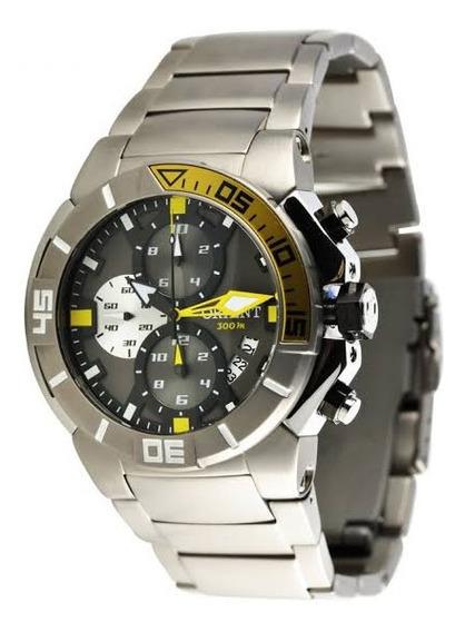Relógio Orient Mbttc003 Seatech Masculino Visor Preto