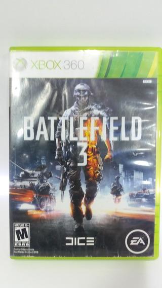 Jogo Battlefield 3 Somente Disco Multpla Xbox 360 Microsoft