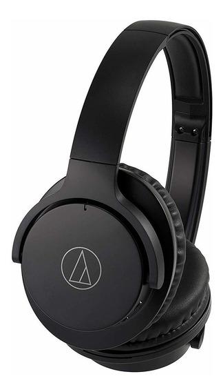 Fone De Ouvido Audio Technica Anc500 Bluetooth Nc Preto