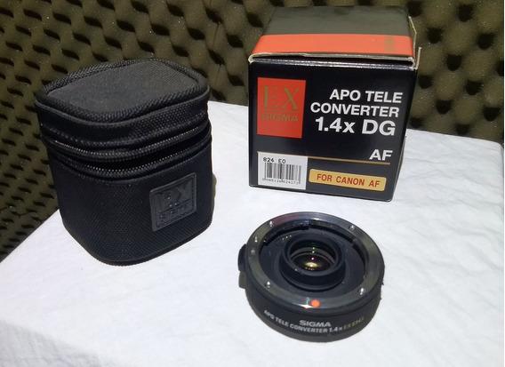 Tc Tele Converter Sigma Ex 1.4x Dg P/ Canon