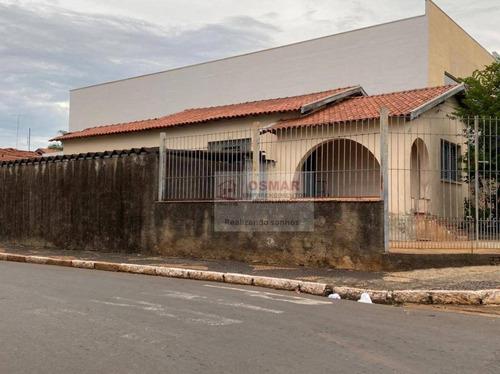 Casa Com 3 Dormitórios À Venda, 100 M² Por R$ 800.000,00 - Jardim São Carlos - Sumaré/sp - Ca1218