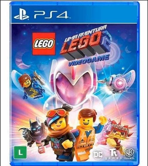 Lego Movie 2 Uma Aventura Ps4 Mídia Física
