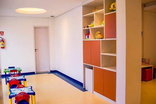 Imagem 1 de 22 de Apartamento Para Venda Localizado No Condomínio Europa Tower Com,  3 Suites, Salas, Banheiro, Cozinha, 2 Vagas Para Garagem, Ar-condicionado, Modulado - Ap00071 - 69351345