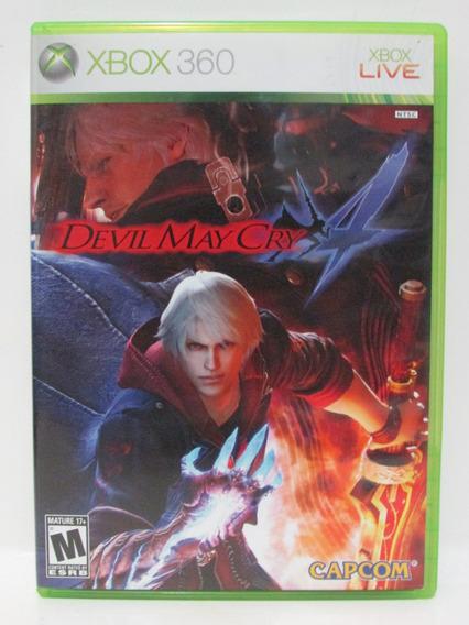 Devil May Cry 4 - Xbox 360 Completo Original Mídia Física