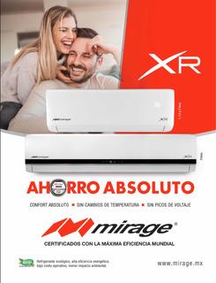 Mini Split Mirage Xr Frío Calor 1 Tonelada 115v