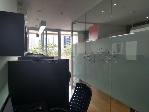 Office Na Ch. Sto. Antonio, Muito Bem Localizada Entre A Av. Sto. Amaro E Marg. Pinheiros - Sf26207