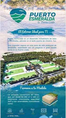 Chelem Terrenos Puerto Esmeralda