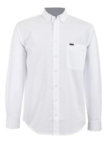 Camisa Casual Lee Hombre Manga Larga D10