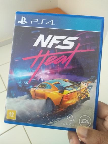 Need For Speed Heat - Ps4, Mídia Física