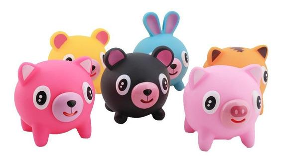 Crianças Squeeze Heads Pitada Língua Brinquedos Cabelo Desco