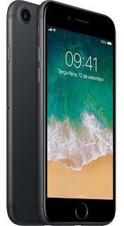 iPhone 7 Apple Ios 11 Touch Id 12mp 32gb Tela 4,7 - Preto