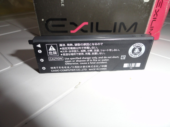 Batería Casio Np-50 Exilim Ex-v7, Ex-v7sr, Ex-v8, Ex-v8sr