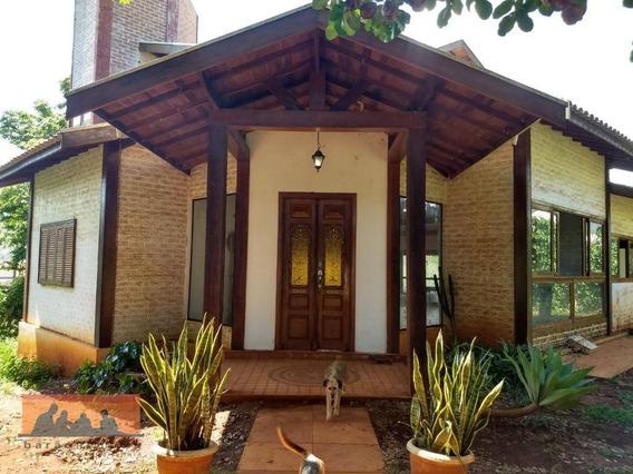 Chácara Com 3 Dormitórios À Venda, 2000 M² Por R$ 850.000,00 - Condomínio Recanto Do Lago - Barão Geraldo - Campinas/sp - Ch0027