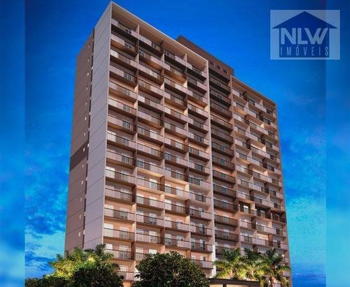 Apartamento Com 1 Dormitório À Venda, 27 M² Por R$ 191.800,00 - Vila Romana - São Paulo/sp - Ap2518
